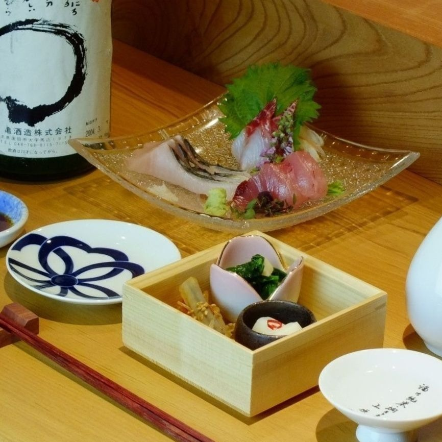 Assorted sashimi from 3 to 1200 yen