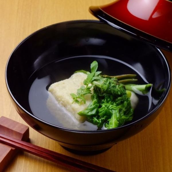 【Today's Bowl】 Together with the true length of seasonal seafood