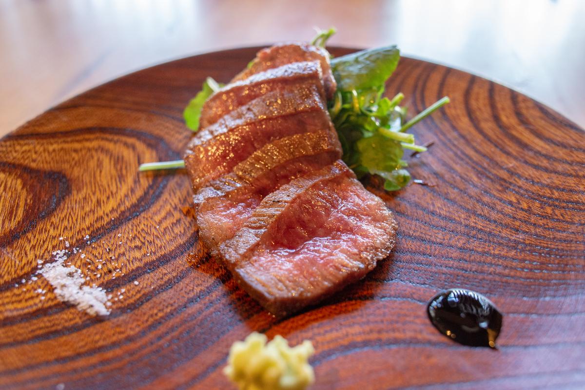 【焼き物】和牛ランプステーキ
