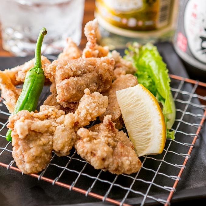 고대 처 닭 튀김