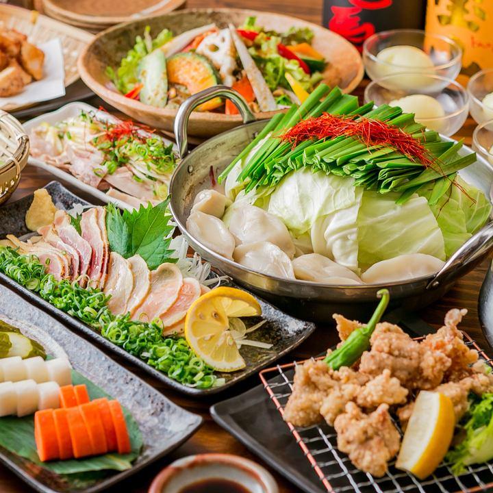 본격적인 규슈 요리를 즐길 ♪ 18 명까지 가능한 다다미 방이나 30 명 ~ 40 명으로 전세도 가능!