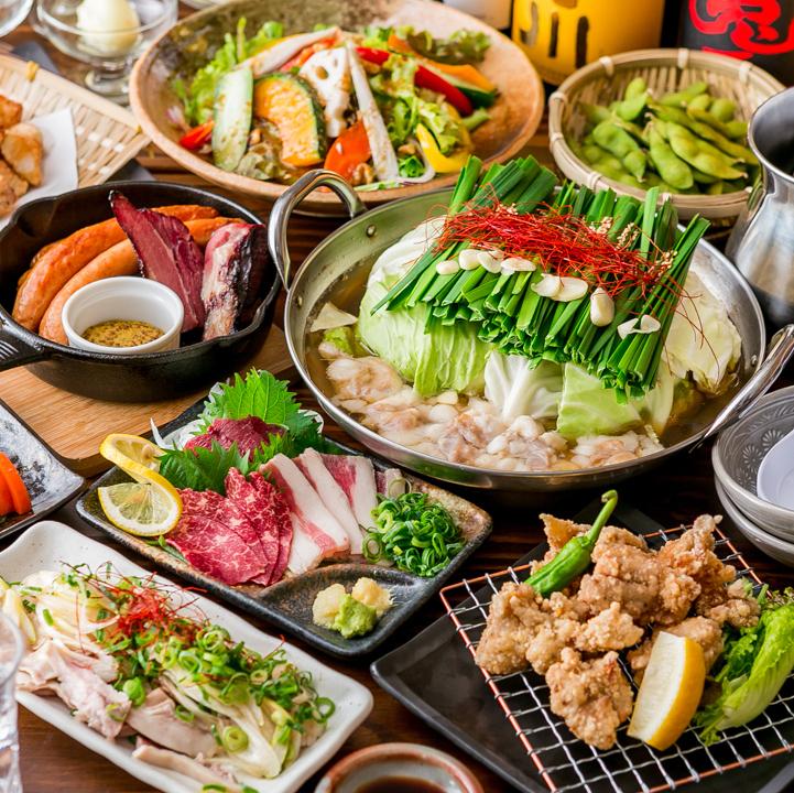 自慢の九州料理の数々