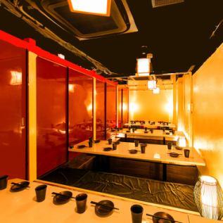 ■ご宴会向け個室■各種ご宴会に最適なお席10名様から40名様まで完全個室をご用意します。お勤め先での会社宴会や貸切に最適なお部屋をご用意!