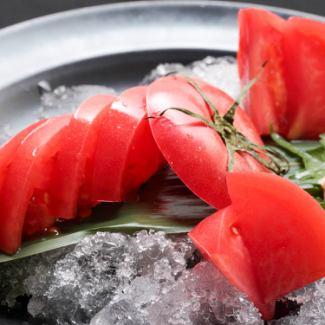 枝豆/タコわさ/きゅうり浅漬け/なす浅漬け/冷やしトマト