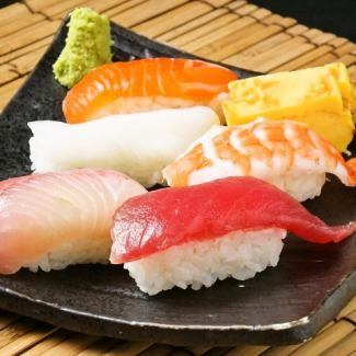 厳選お寿司6貫盛り合わせ