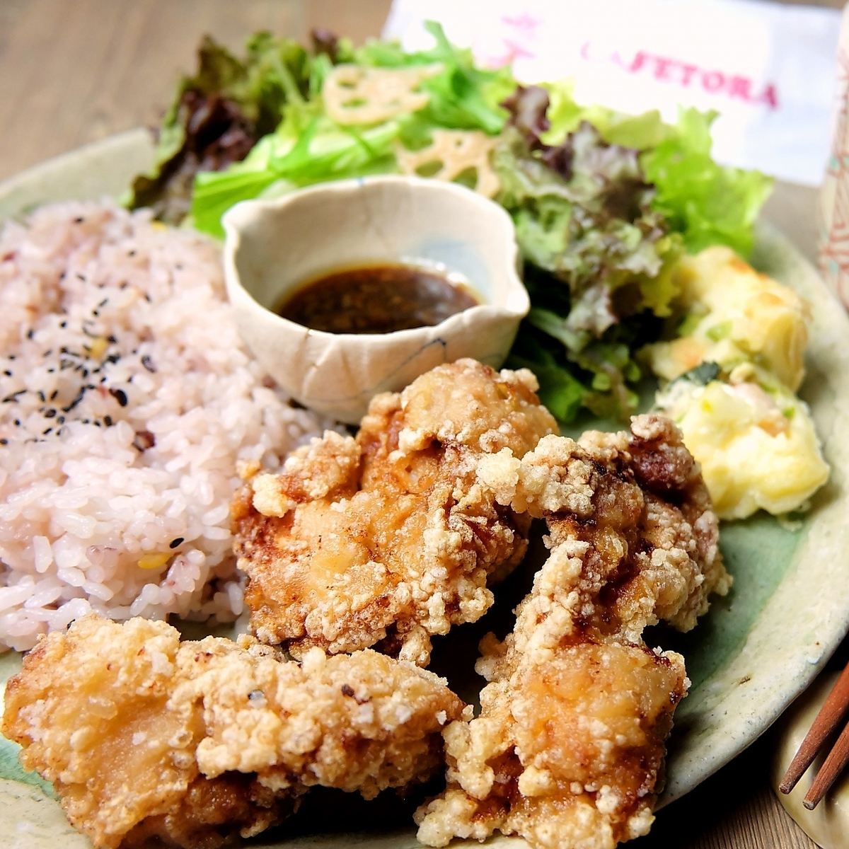 Deep-fried young chicken