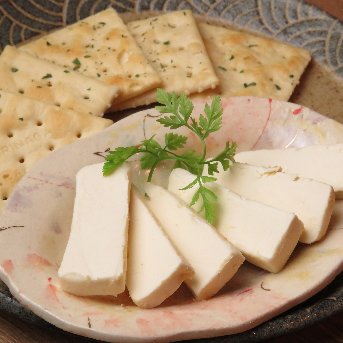 Miso pickled cream cheese
