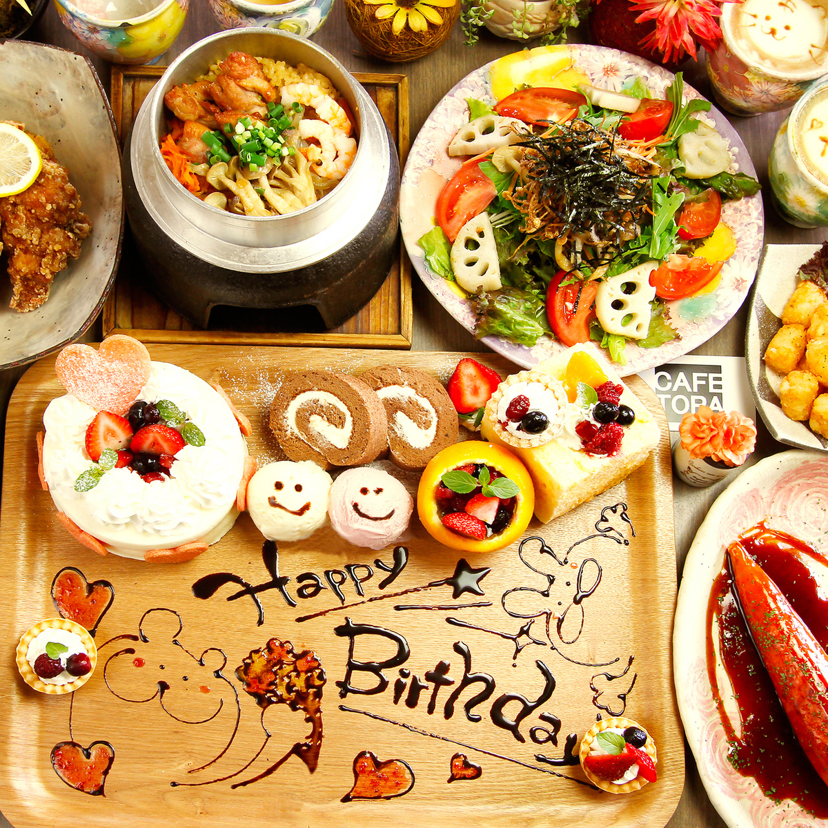 Plate gift with message ☆ on birthday · anniversary ♪