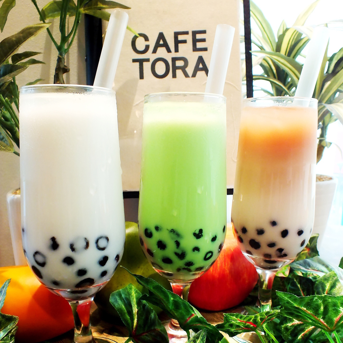Tapioca drink is also recommended ☆