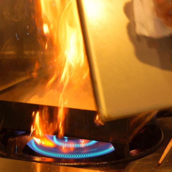 饺子完成了一个店主发明的特殊烹饪法。