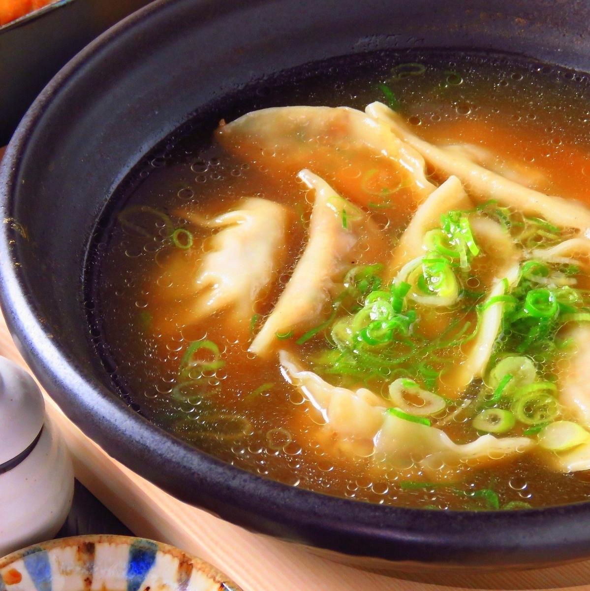 煮熟的饺子