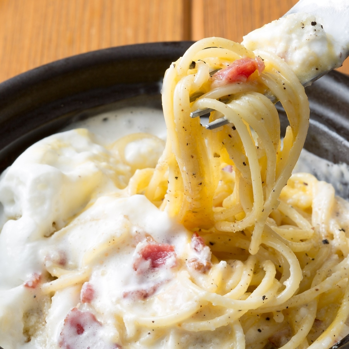 Carbonara on the clouds