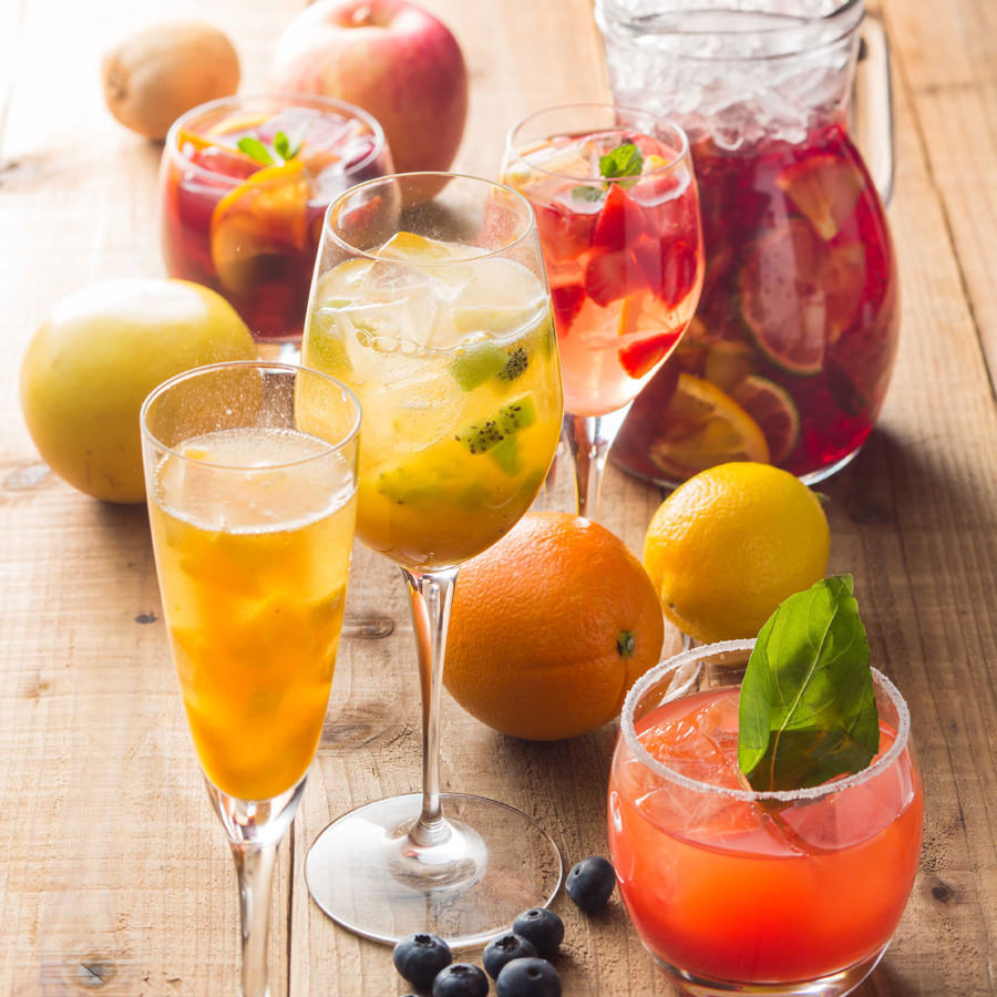 Boasting homemade Sangria