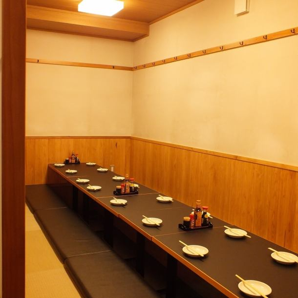회사 연회는 20 명까지의 별실 공간을 제공.그 외에도 테이블 석 등 다수! 퇴근길에 쇼핑!