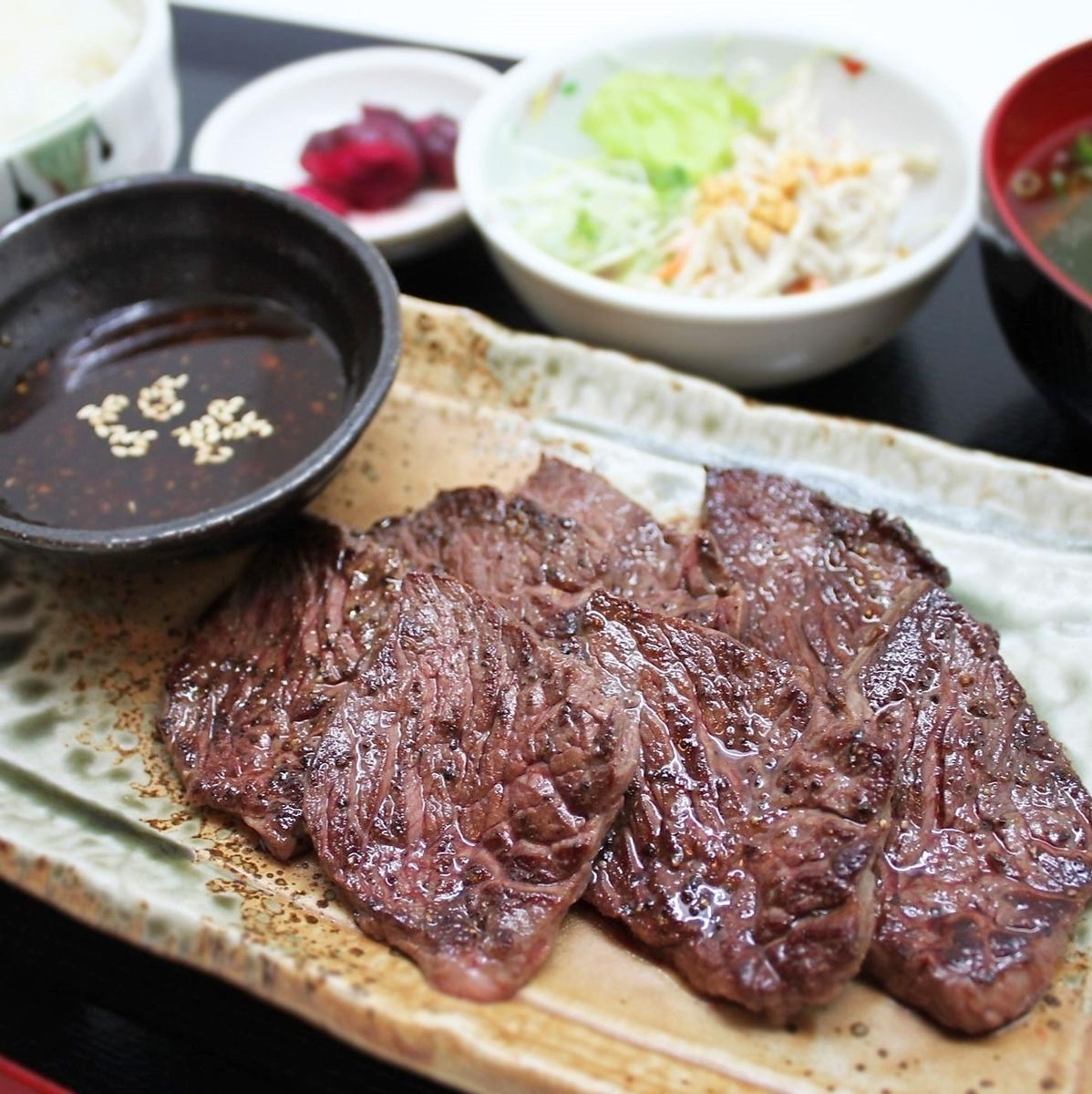 牛肉harami肉集合膳食