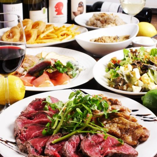Party in Shibuya ♪ Great satisfaction even for large people ★ Enjoy exquisite taste ★ ~ Party course with drinks unlimited ~