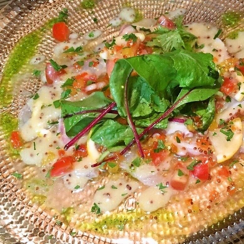 明石蛸のカルパッチョ/おまかせカルパッチョの盛り合わせ