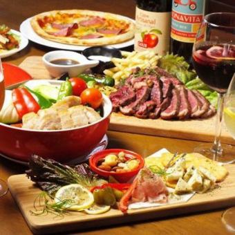 To those who want to enjoy the meat firmly! 2 hours with all you can drink ☆ Meat Balcose 5200 yen