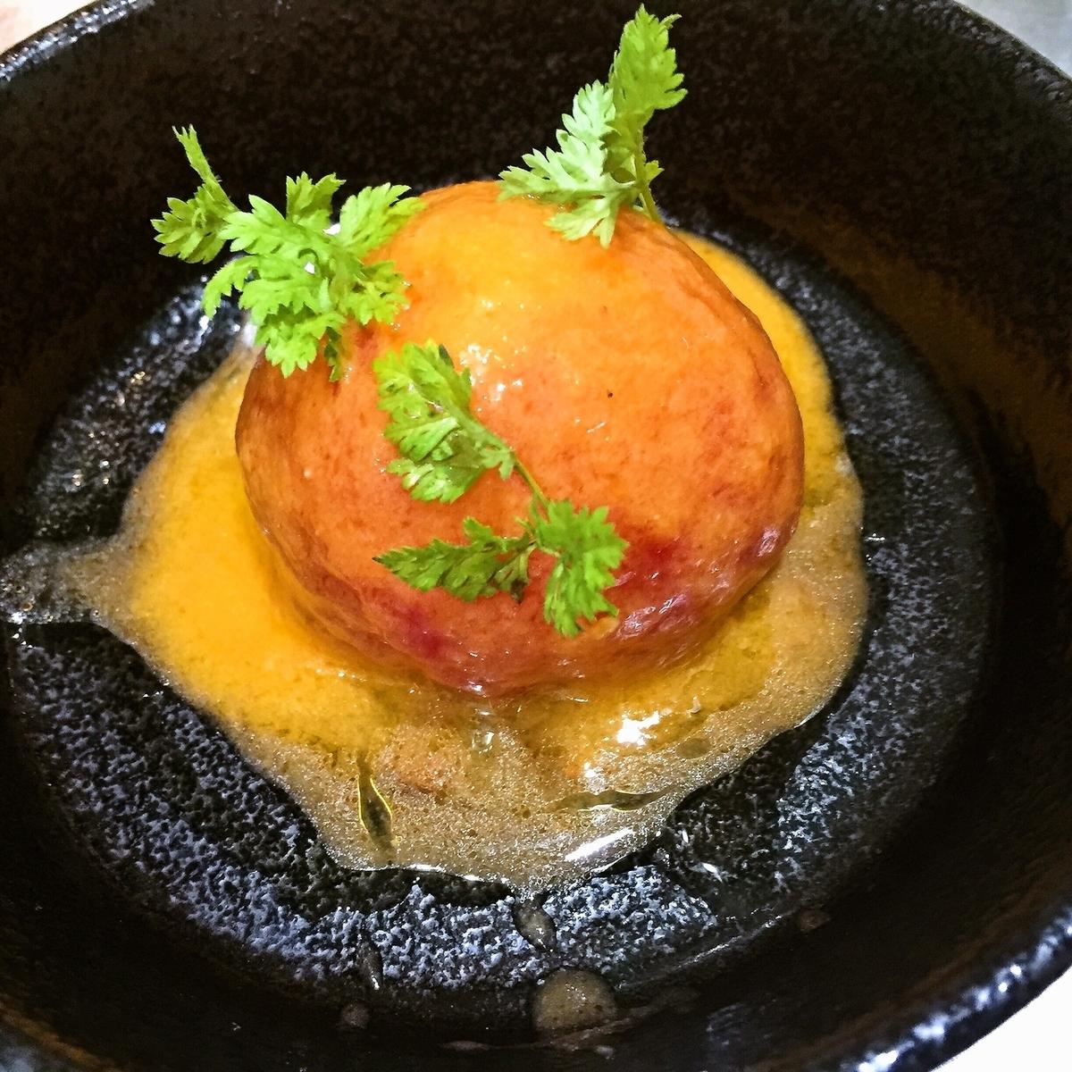 紫波産トマトの丸ごとマリネ