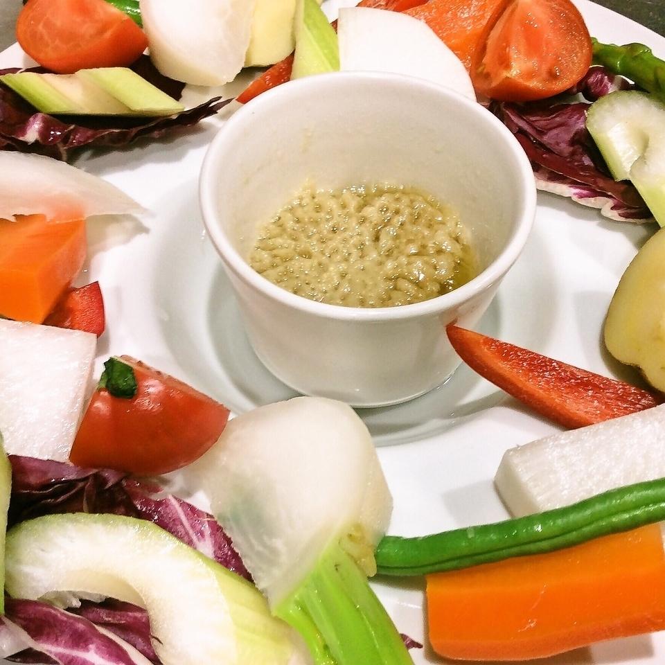 県産野菜のバーニャカウダ