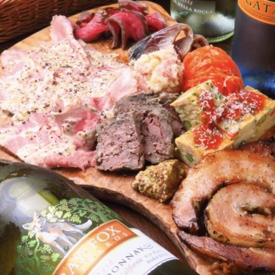 【On the day OK ♪】 Today's meat dishes and all 6 items & 90 minutes with unlimited drinks 3500 yen (tax included)