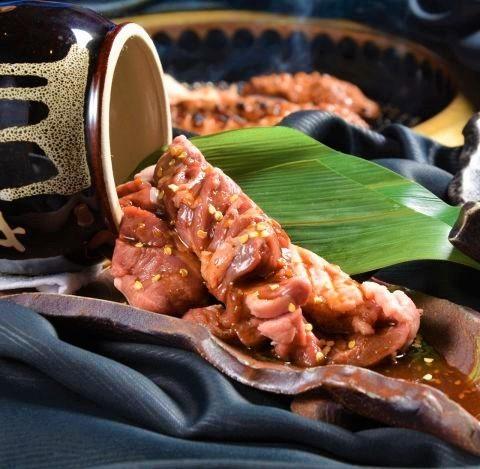 很多猪肉harami