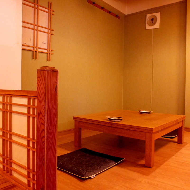 A semi-private room seat where you can relax comfortably.Perfect for girls' associations and company banquets ♪