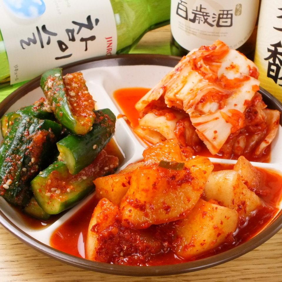 Handmade Korean cuisine ♪