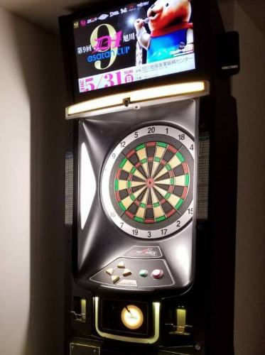 【Darts toll free all-you-can-plan ☆】 Weekday only 2H darts throw-all-you-can & 2 hr drink all you can 3000 yen!