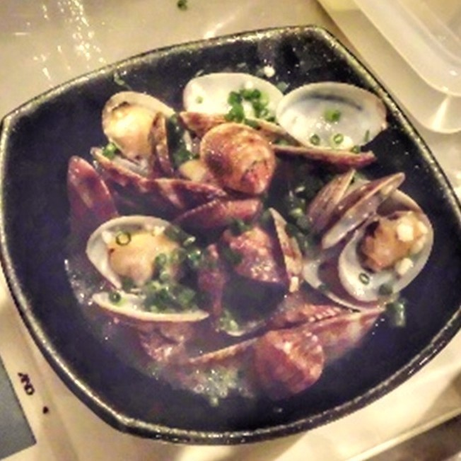 蒸蛤蜊用鹽蛤蜊
