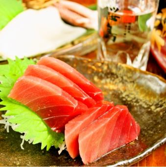 Sashimi separately various