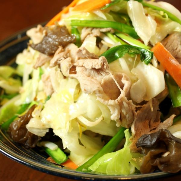 Amazing volume !! Order rate 100% ~ Stir fry Chinese style meat vegetables ~