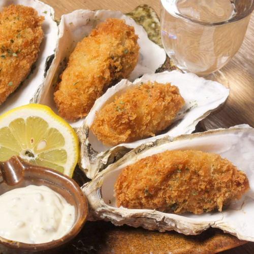 牡蠣フライ(4個)