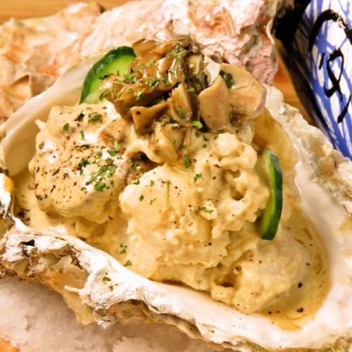 牡蠣のポテトサラダ