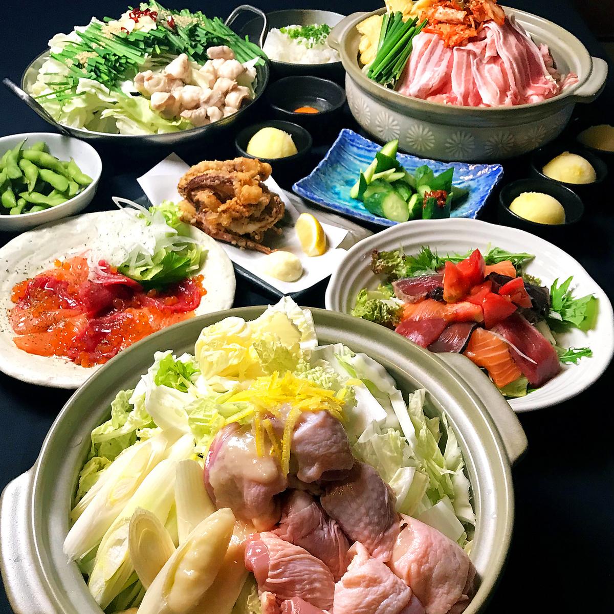 哪個鍋吃?Mugiya Nabe的流行火鍋♪
