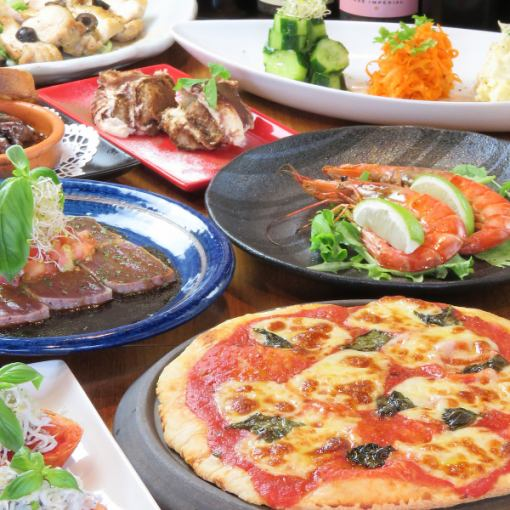【Tapas Favorite Course】 2 H with all you can drink! 4000 yen