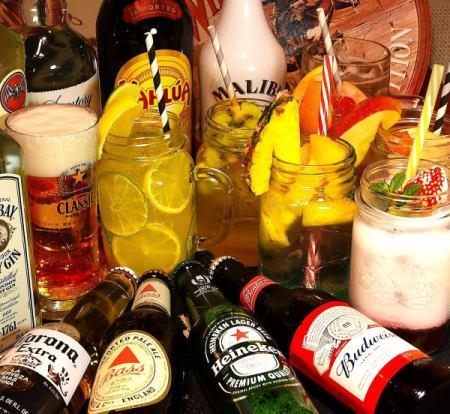 生ビールを含む全70種類の豪華飲み放題を120分からご用意☆