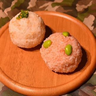 ライスボール(鮭&わかめ)