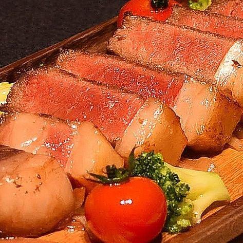 道産牛のサーロインステーキ(300g)