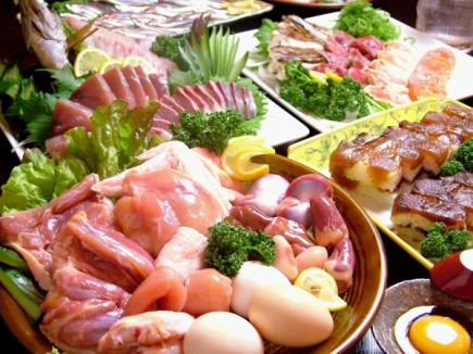 Tosa Jiro and Tataki for bonito ♪ 2 hours Drinking and drinking course 5500 yen ⇒ 4500 yen