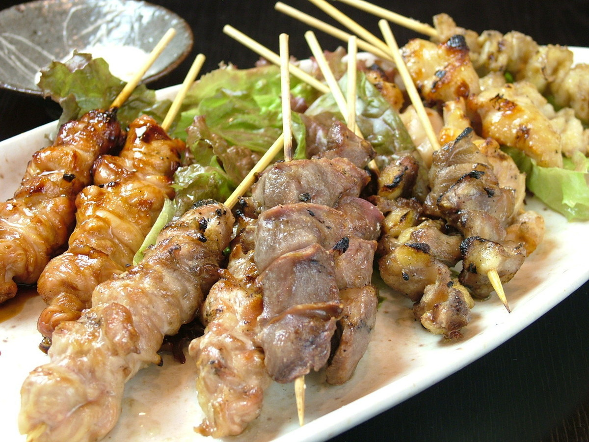 All Tosa Giro skewers are served and all of Jiro can be eaten in this assortment. 11 books now to 12