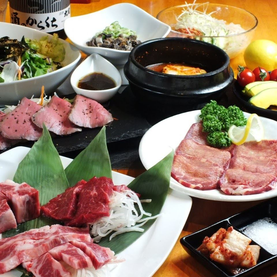大人気の国産牛食べ放題♪2980円~でとってもリーズナブル!