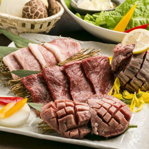 厳選肉を存分にご堪能頂けるお得な90分食べ放題コース2480円~♪