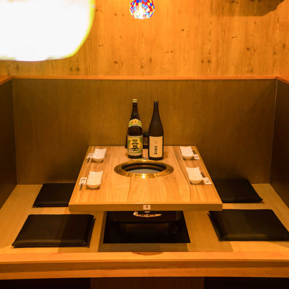 We will have a fun party for tonight with private room seats that are perfect for small group sizes ♪ We will correspond to a wide range of genres such as dates and anniversaries.Various advantageous benefits There are many available.Please do not hesitate to ask! Shinbashi is a premier Kospa Yakiniku restaurant ◎