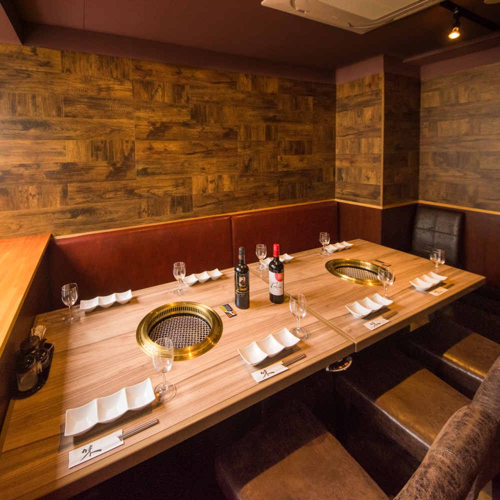 Happy private room Enjoy exquisite cuisine and a selection of selected sake in private space.A valuable exquisite menu that only you can eat only in Ushimaru Please enjoy it on this occasion certainly.Our shop is excellent access from Shimbashi station soon!