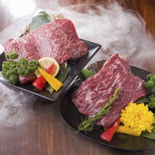 黑色和牛牛肉三分