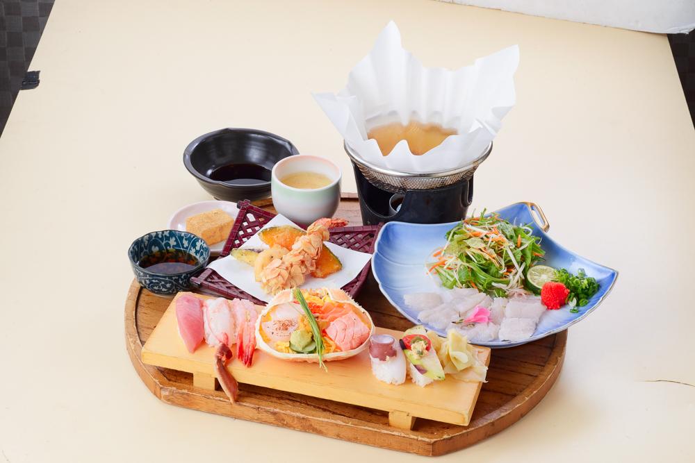 虾,螃蟹,红薯【女性午餐】