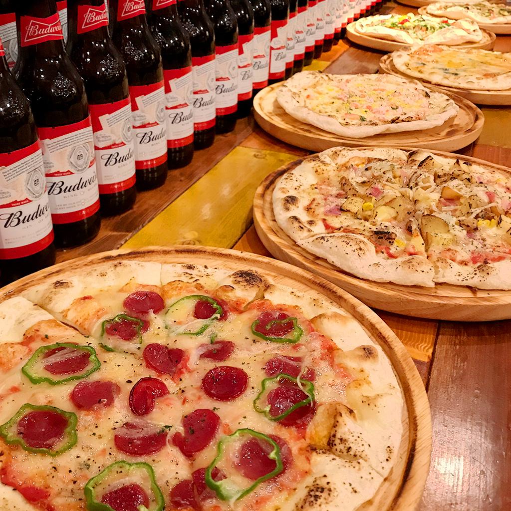 ピザとアメリカンフード♪