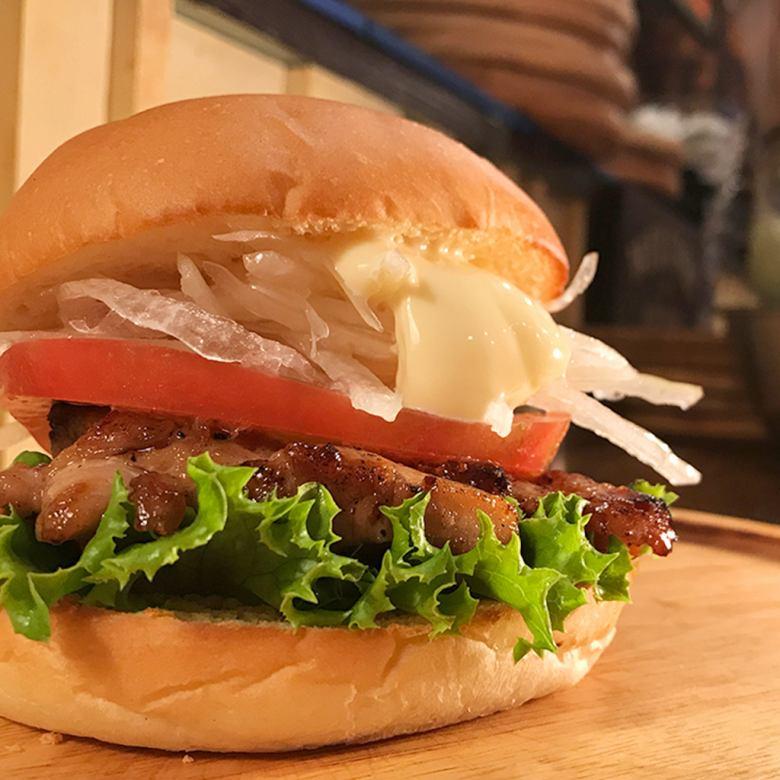 照燒雞肉梅奧漢堡