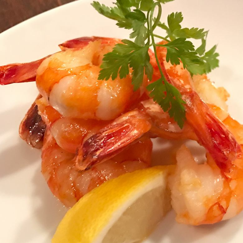 Specialty garlic shrimp